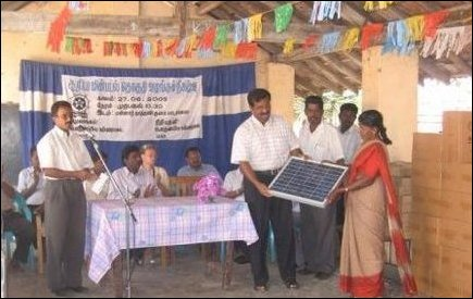 Solar systems for Mannar Schools