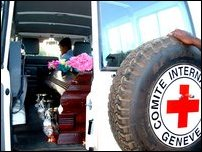 ICRC takes bodies of LTTE members.