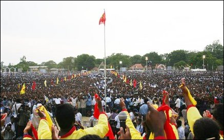 Tamil resurgence convention in Kilinochchi