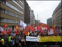 Diaspora rally in Brussels