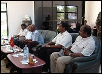 WFO officials meet