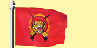 Tamileelam National Flag