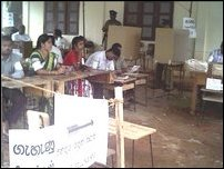 Omanthai polling booths