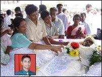 Trinco funerals