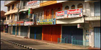 Batticaloa shuts down