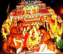 Lord Konesar procession begins in Trincomalee.
