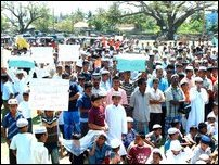 Trinco Muslims protest against Denmark