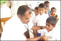 Health clinic in Batticaloa