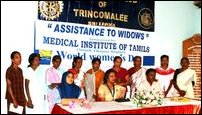 Trinco Inner Wheel Club assist widow.s