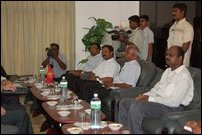 LTTE, Co-chairs meet in Kilinochchi