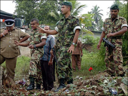 Claymore blast in Colombo