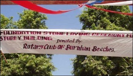 Foundation laying ceremony at Fatima College