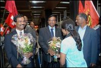 LTTE delegation in Switzerland