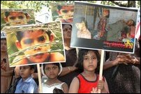 Swiss Tamils protest against violence against women