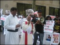 US Tamils protest