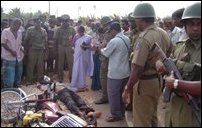 Thinakkural distributor killed.