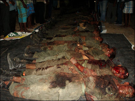 LTTE captures SLA soldier, locates 75 dead bodies of Lankan troopers