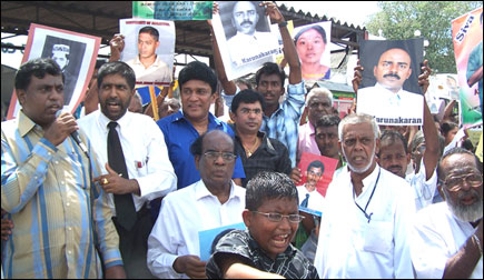 Protest held in Colombo