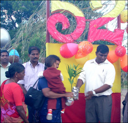 Sea Tigers celebrate LTTE leader Mr. V. Pirapaharan's 52nd birthday