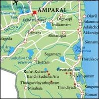 Amparai Map