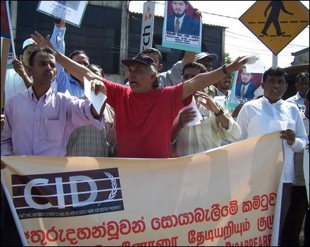 Demonstration against abductions