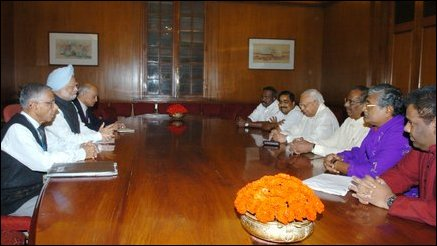 Indian Prime Minister receives TNA leaders