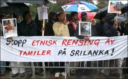 Norwegian Tamils urge Norway to pressure GoSL