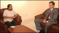 US envoy meets JVP leader