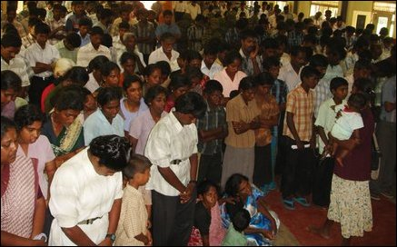 Major Selvam funeral
