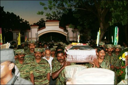 Thamilchelvan laid to rest