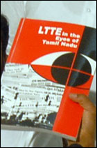Propaganda book by SL mission in Chennai