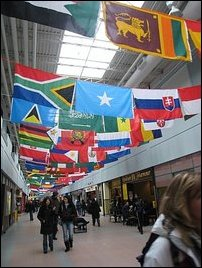 Tamileelam flag in York University