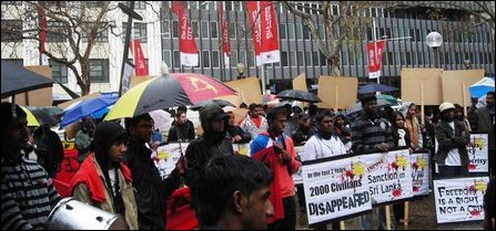 Sydney  Tamil commemorate Black July