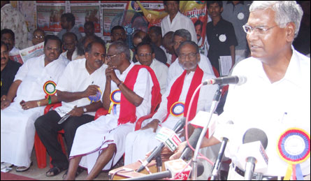CPI National Secretary D. Raja