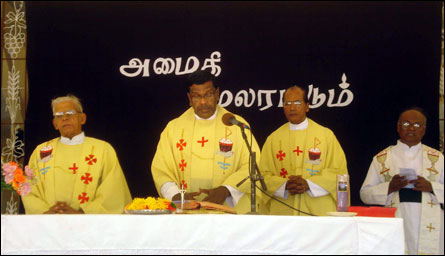 Prayers and peace rally in Jaffna