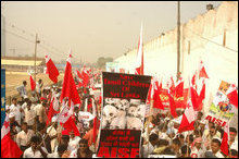 ASIF protest in New Delhi