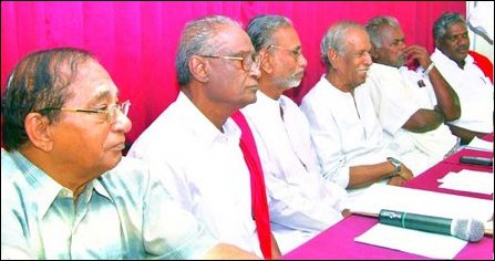 All Party Meeting by CPI