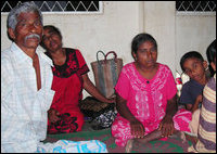 IDP family from Paranthan