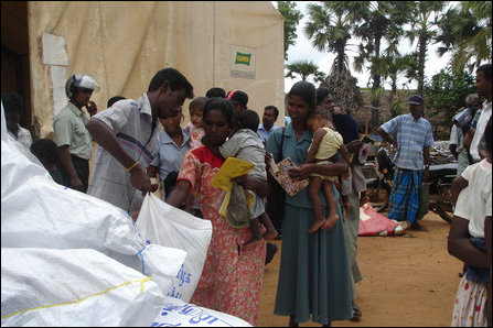 Relief packages from Tamil Nadu