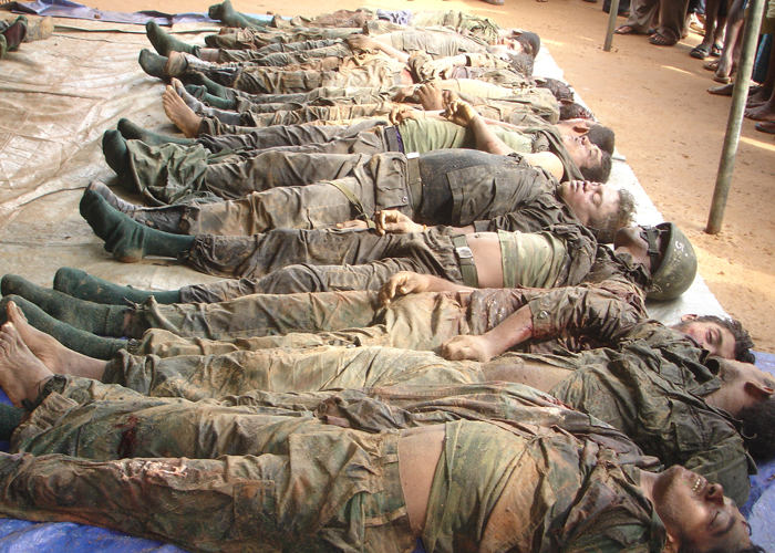 Movie female soldier death