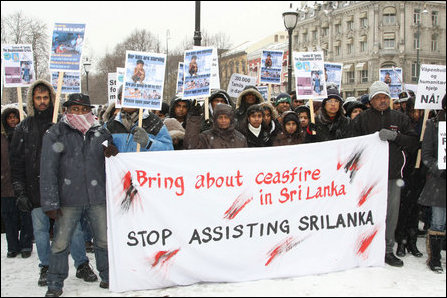 Norwegian Tamils urge Norway to stop