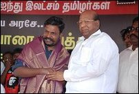 Thirumavalavan on fast-unto-death