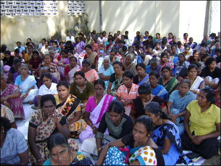 The Catholic community of Jaffna