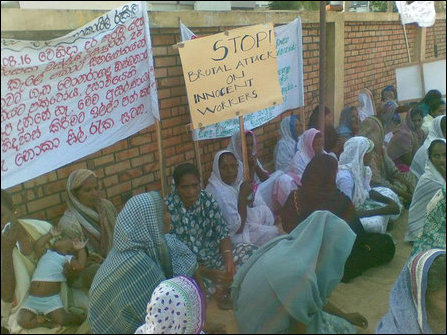 Poththuvil Muslims on hunger strike