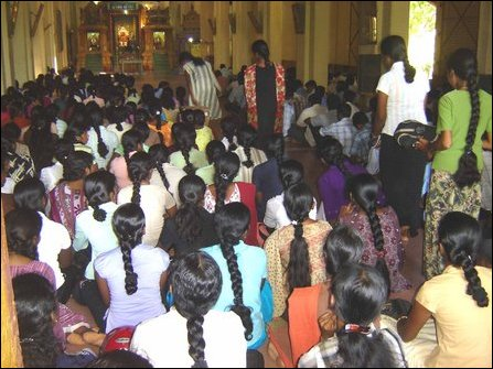 fast for Vanni Tamils in Jaffna