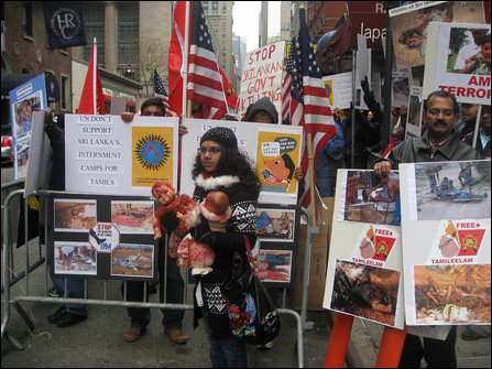 Rally in New York urges UN, US to intervene