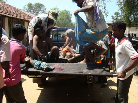 Mullai wounded IDPs