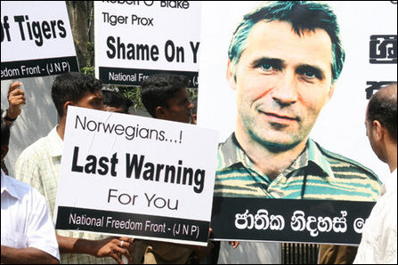Expel Norwegian Ambassador from Colombo