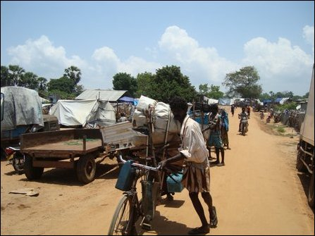 IDPs moving