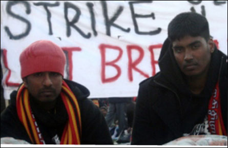 British Tamils on Hunger Strike